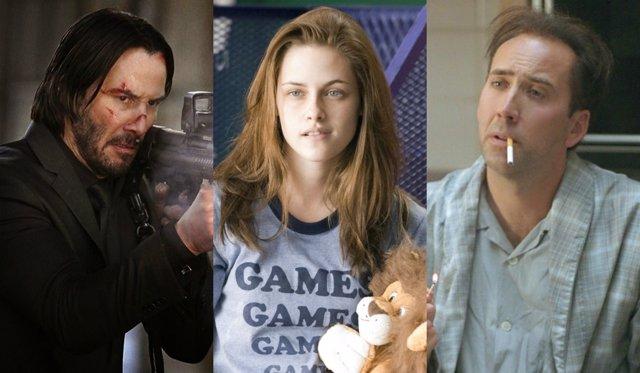 Keanu Reeves, Kristen Stewart y Nicolas Cage