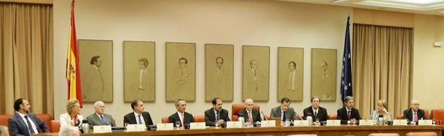 Los miembros de la Junta Electoral Central
