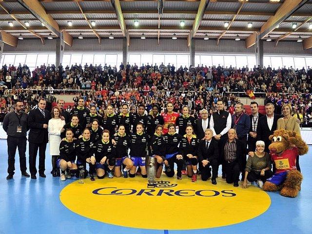 Guerreras selección española balonmano femenino Elda