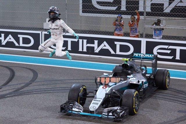 Nico Rosberg campeón mundo Mundial F1 Abu Dabi