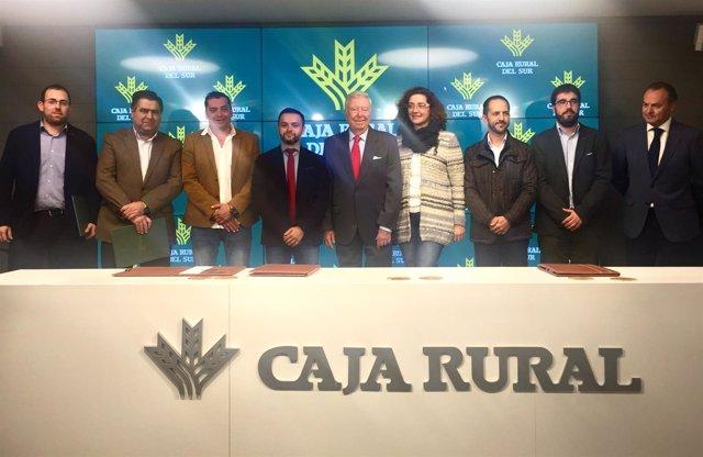 Acuerdo de Caja Rural con los GDR de Sevilla