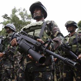 soldados de filipinas