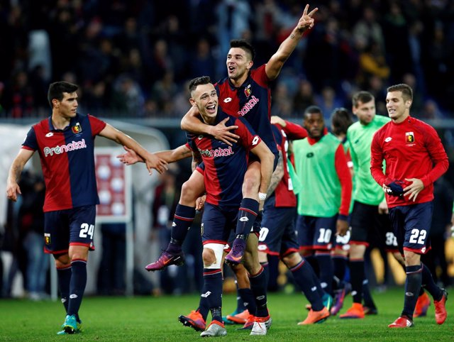 Gio Simeone liquida a una desafortunada Juventus