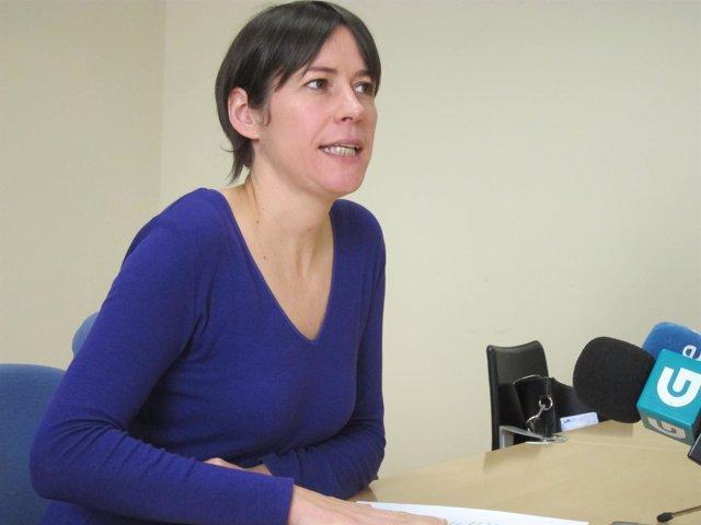 La portavoz  nacional del BNG, Ana Pontón