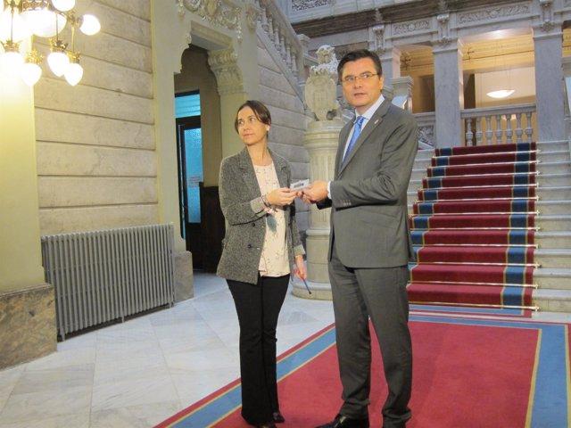 La consejera Dolores Carcedo presenta en la Junta los presupuestos de 2017