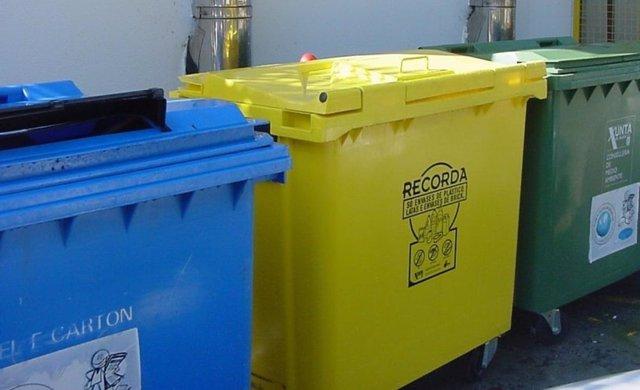 Contenedores De Reciclaje De Sogama