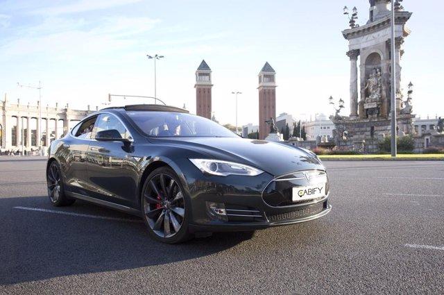 Los coches con chófer de Cabify llegan a Barcelona