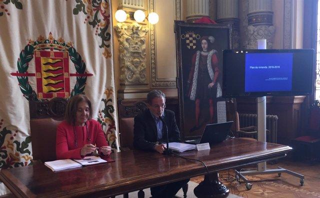 Presentación del V Plan Municipal de Vivienda de Valladolid