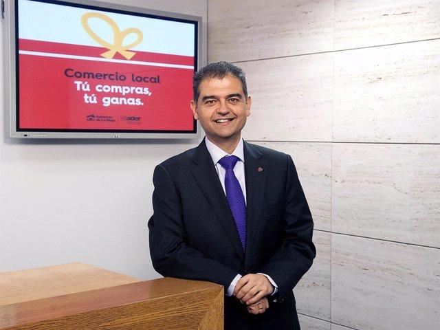 El director general de Comercio Julio Herreros presenta campaña minorista