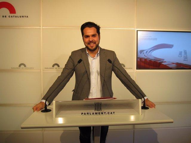 El secretario de comunicación del C's Fernando de Páramo