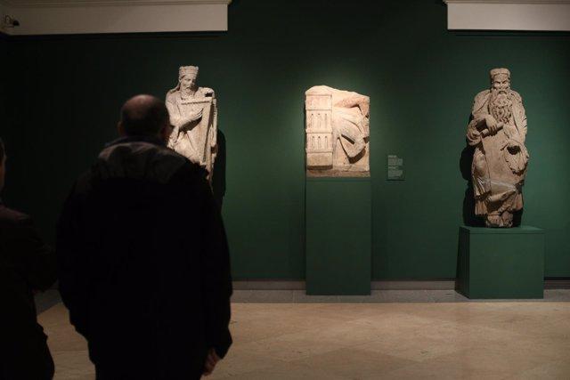 Presentación de la exposición Maestro Mateo en el Museo del Prado
