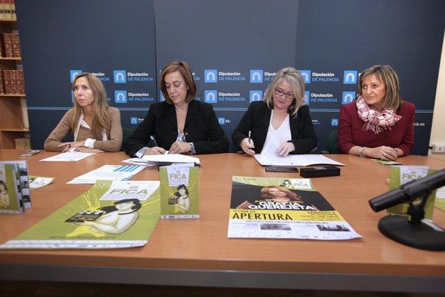 Firma del acuerdo Diputación -FICA