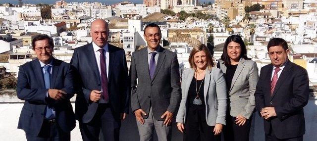 Presidentes de diputaciones andaluzas