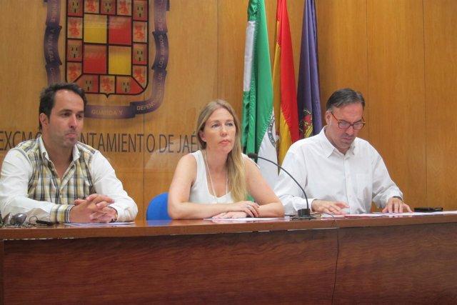 Imagen de archivo de Iván Martínez, Salud Anguita y Víctor Santiago.