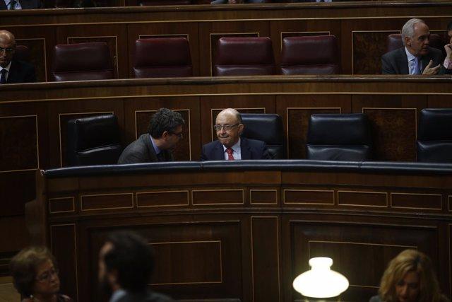 Cristóbal Montoro en el Congreso