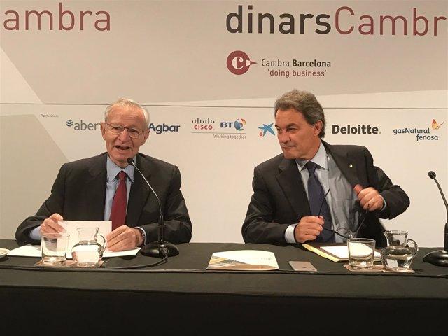Miquel Valls (pte.Cámara de Barcelona) expte.Artur Mas (PDECAT)