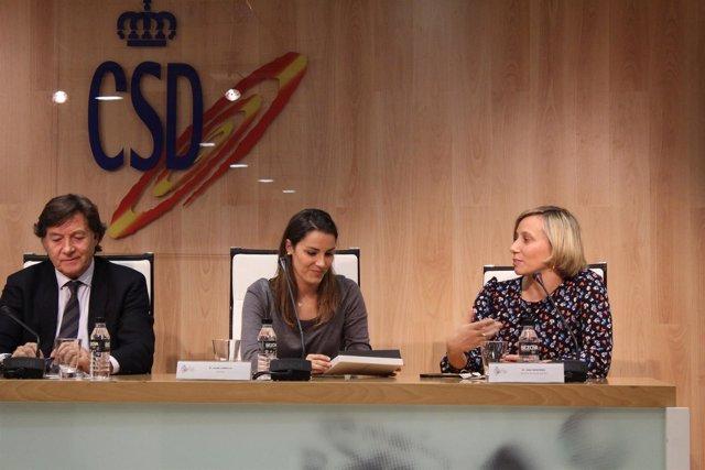 Alba Cabello Ana Montero José Ramón Lete