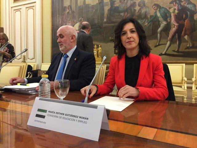 Gutiérrez en la conferencia