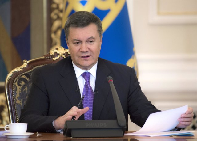 El ex presidente ucraniano Viktor Yanukovich