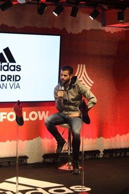 Nacho Fernández Real Madrid adidas