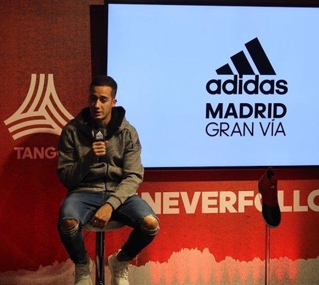Lucas Vázquez Real Madrid adidas