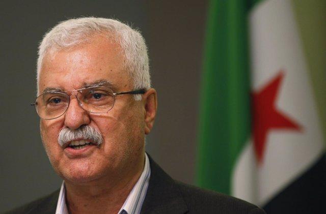 El jefe del Alto Comité Negociador (ACN) de la oposición siria, George Sabra