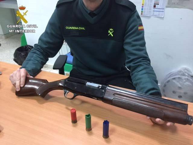 Arma utilizada en Lepe
