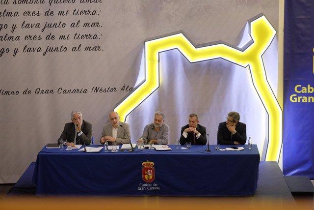 Las Palmas De Gran Canaria. 28/11/16.   El Cabildo De Gran Canaria Acoge El Colo