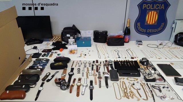 Prisión para seis miembros de un red que robaba en pisos de Catalunya