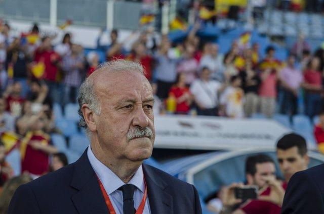 Vicente del Bosque, entrenador de la selección española