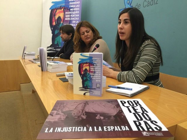 Presentación de informe de APDH sobre porteadoras de Ceuta
