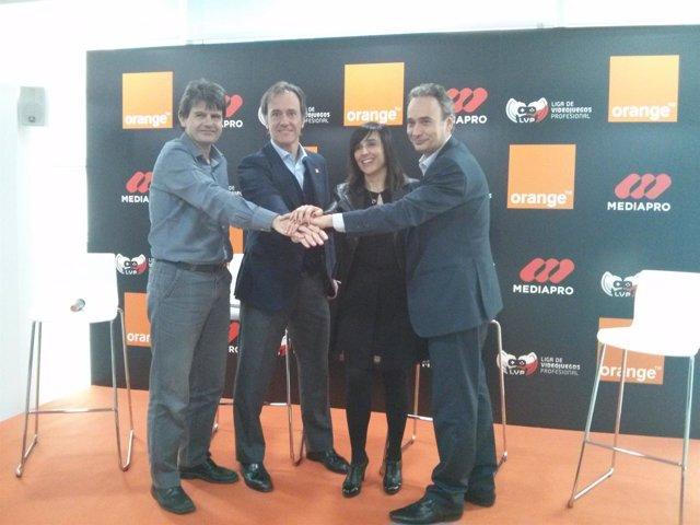 Orange patrocinará la Liga de Videojuegos Profesional