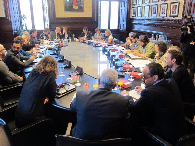 Mesa y Junta de Portavoces del Parlament