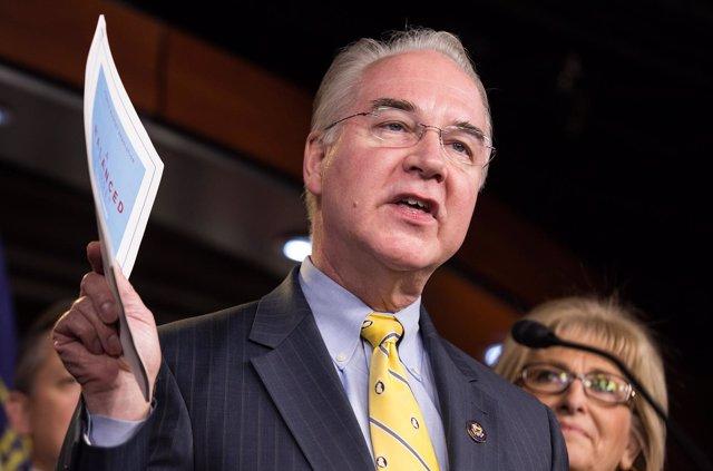 Tom Price, propuesto para el Departamento de Sanidad de EEUU