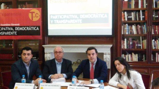 Afiliados críticos de Ciudadanos, miembros de TranC'sparencia