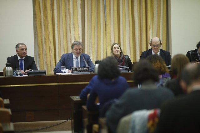 Méndez de Vigo comparece en la Comisión de Cultura del Congreso