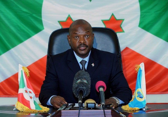 Pierre Nkurunziza.