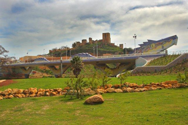 Vista Panorámica Del Puente Del Dragón De Alcalá De Guadaíra
