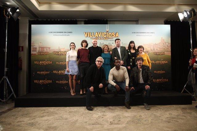 Elenco de actores de la película Villaviciosa de al lado
