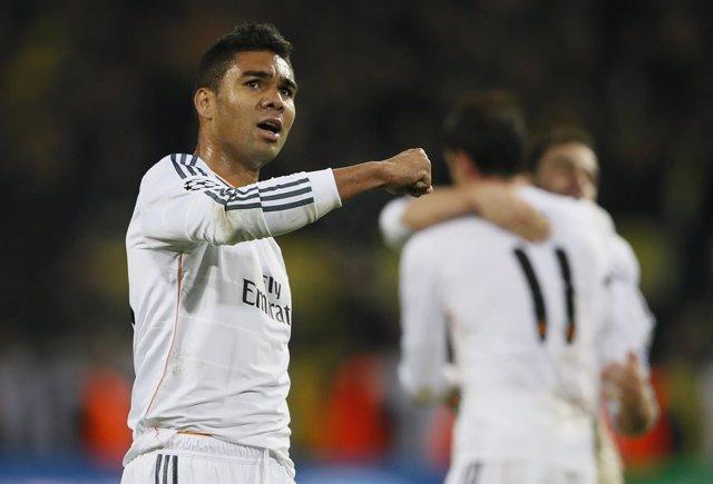 Casemiro, del Real Madrid