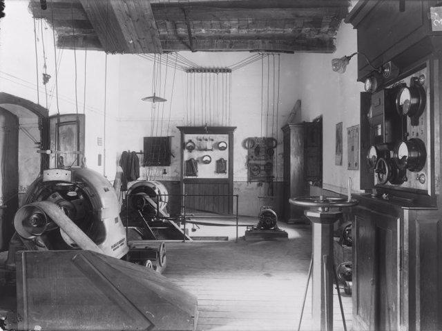 Mecanización de Codorníu a principios del siglo XX