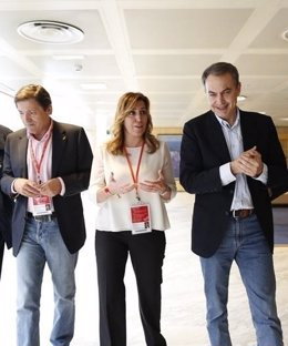 Susana Díaz, Zapatero y Fernández