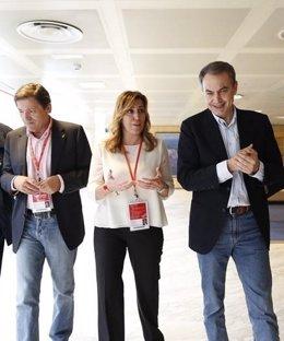 Susana Díaz, Zapatero y Fernández estarán en la Internacional Socialista de Mála