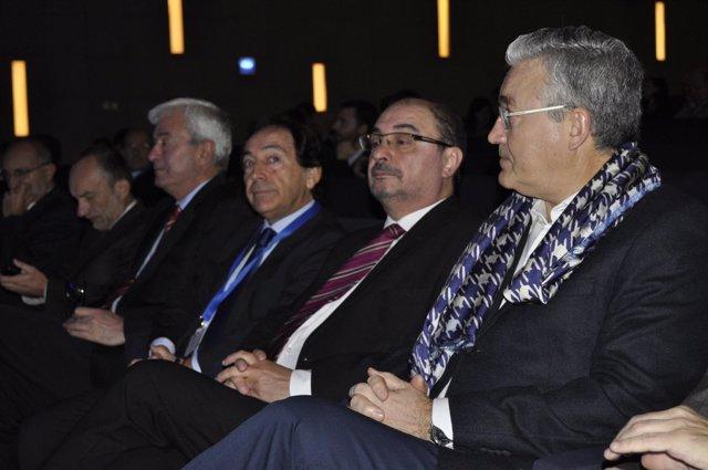 Lambán inaugura la VII Convención de ADEA
