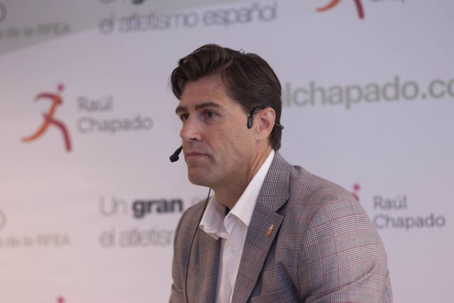 Raúl Chapado presenta su candidatura a la RFEA