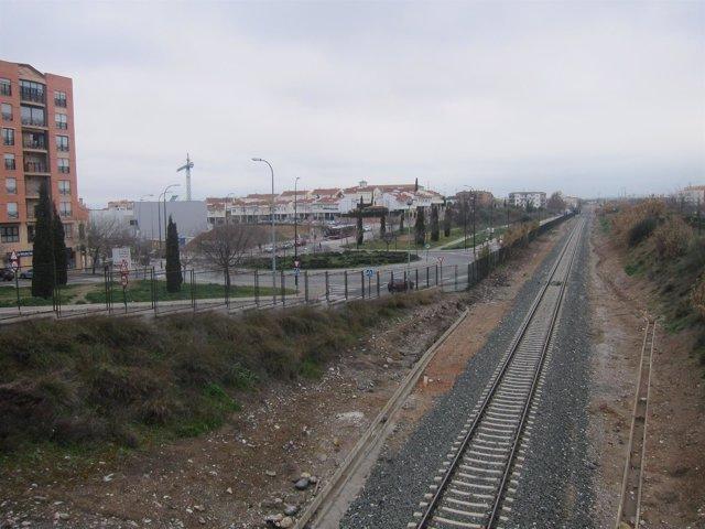 Ubicación de la nueva estación del AVE de Granada