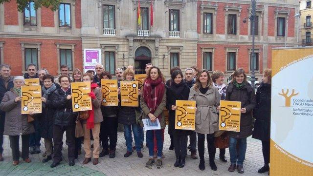 """La coordinadora de ONGD de Navarra muestra su """"rechazo"""" a los Presupuestos 2017"""