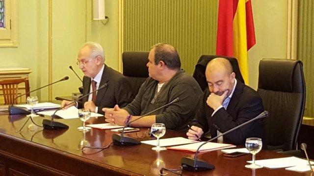 Lluís Segura en comparecencia