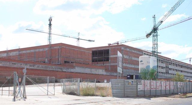 HOSPITAL DE TOLEDO EN OBRAS