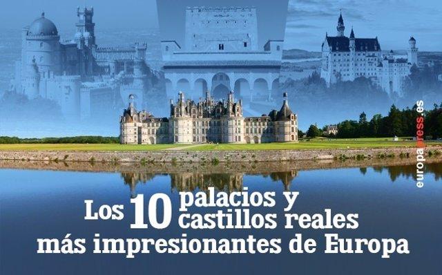 Palacios y castillos reales de Europa
